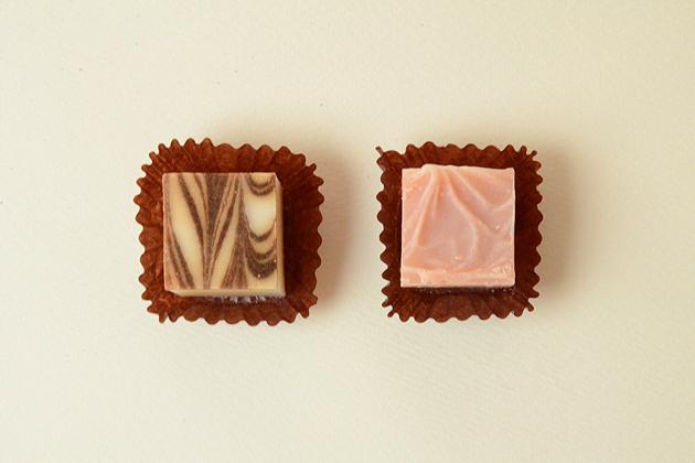 チョコレート石鹸2個入り