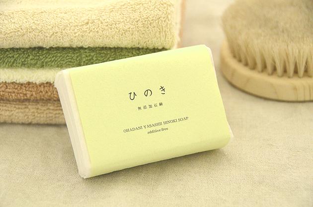 ひのき石鹸