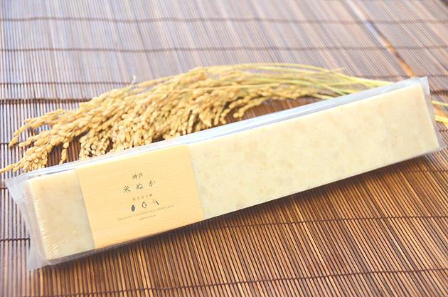 バータイプ 神戸 米ぬか石鹸
