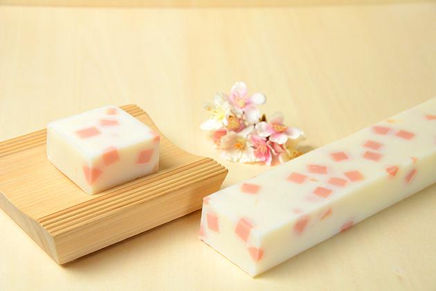 バータイプ 桜ふぶき石鹸