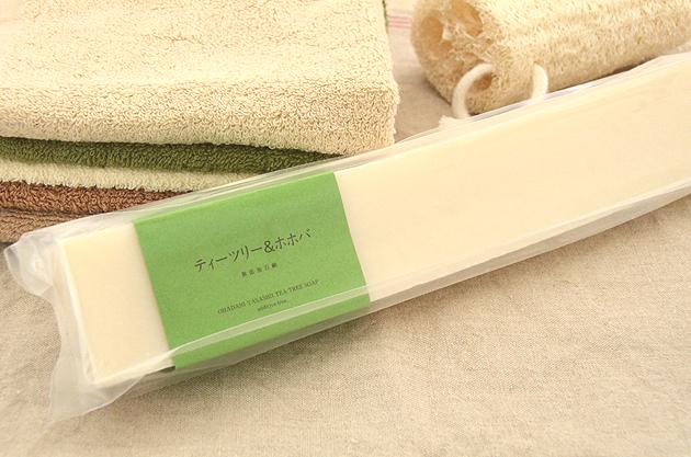 バータイプ ティーツリー&ホホバ石鹸