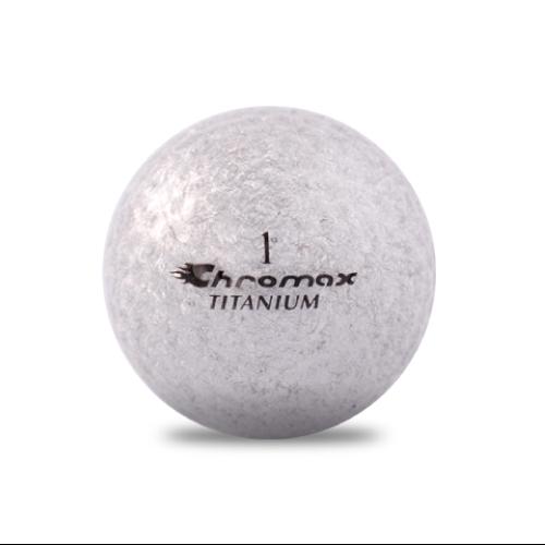 ゴルフボール印刷 クロマックス メタリック2 (ラメ シルバー) 1球 【当日出荷対象外】