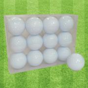 ゴルフボールオリジナル印刷 プリント専用無地ボール(12球入)4デザインまで