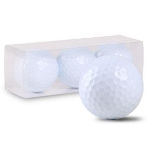 ゴルフボール オリジナル印刷 プリント専用無地ボール(3球入)4デザインまで【写真・ロゴ】