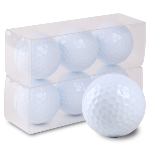 【ゴルフボール 名入れ 通販 イラスト 印刷 贈り物 ギフト プレゼント 当日出荷 ボール】ゴルフボール印刷オリジナル プリント専用白無地ボール(6球入)【還暦】