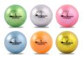 【ゴルフボール 通販 贈り物 ギフト プレゼント 当日出荷 コンペ用品】クロマックス メタリック1 6色パック