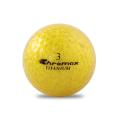 ゴルフボール印刷 クロマックス メタリック2 (ラメ ゴールド) 1球 【当日出荷対象外】