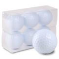 【ゴルフボール 名入れ 通販 イラスト 印刷 贈り物 ギフト プレゼント 当日出荷 ボール】ゴルフボール印刷オリジナル プリント専用無地ボール(6球入)【名入れ】4デザインまで