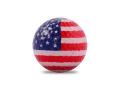 【バラエティゴルフボール】 国旗ゴルフボール 「アメリカ」 1球パック