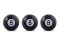 【バラエティゴルフボール】 スポーツゴルフボール 「ビリヤード」 3球パック