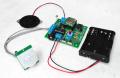 MK-158C-BUILT 人を検出するとメッセージを再生!電池駆動可能な人感センサーとスピーカー付きMP3ボイスプレーヤーキット完成品