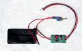 MK-512 乾電池2本で12V/100mA出力!電池ボックスとスイッチ付きDC/DCコンバータ完成品