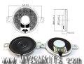 MSC-100 パネル取り付け簡単!耳付き、超薄型で小型30mm径0.5W8Ωスピーカー