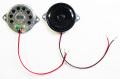 MSC-108B 接続用ケーブル付きですぐに使える!耳付き、超薄型で最大1.5W。40mm径8Ωスピーカー