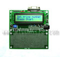 PIC-P18-LCD すぐに使える!液晶表示、LED、汎用スイッチ、RS232C付き18ピンPICマイコン開発ボード完成品