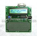 PIC-P28-LCD すぐに使える!液晶表示、LED、汎用スイッチ、RS232C付き28ピンPICマイコン開発ボード完成品