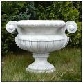 イタリア製石造花鉢 クローディオ 人工大理石鉢