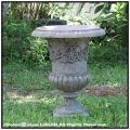 メディシス テラコッタ鉢 レトロ感 逸品 アンドゥーズ フランス製 古代調 古仕上げ ハンドメイド