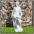 アポロ クラシックデザイン イタリア art112 洋風庭園 狩人 ガーデンオブジェ 輸入庭置物 石像 彫像