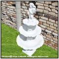 泉 ヴィラ・ランテ 小型3段噴水 石造小型噴水 クラシック 洋風ガーデン 人工大理石製 イタリア製噴水 人気