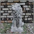 ライオン 座像  オーナメント オブジェ  ガーデン 動物