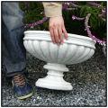 カッシア人工大理石石造花鉢・石鉢・イタリア彫像