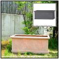 コットライト グラスファイバー植木鉢 大型 テラコッタ色