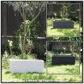 鉢植え 人気 横長 リガンデ プランター鉢 軽量コンクリート製 大型 コンクリート ガーデニング