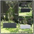 ガーデニング 鉢植え 人気 横長 リガンデ プランター鉢 軽量コンクリート製 大型 コンクリート
