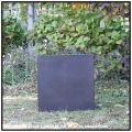木の質感 サイコロ型 キューブ MOKU 温かい木質 室内専用の鉢カバー 花鉢 Woody Finish 樹脂製鉢 木目が美しい