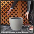 植木鉢 軽量 樹脂製 モードライト ラウンド