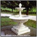 泉アラス 輸入オーナメント 噴水 イタリア石像 2段ガーデン噴水 石造 オブジェ