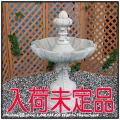 石像オーナメント コンパクトサイズ ガーデンオブジェ 人工大理石 家庭用小型噴水 循環式 オルトナ噴水