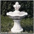 高級輸入石像 ショップ   提案 カプリ噴水 小型噴水 洋風庭園 欧風ガーデン 家庭用噴水 パティオ噴水 石造噴水