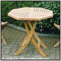折り畳みテーブル インドネシア チーク製