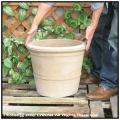 ハンドメイド  ショコラ 耐寒性  風合い  テラコッタ鉢 植木鉢  輸入  ピエンザポット 高級  色ムラ