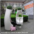大型施設 イタリア製 セラルンガ社 ポリエチレン樹脂鉢 Philippe Starck デザイナーズ ホリーオール 軽量