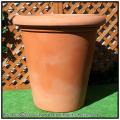 樹脂植木鉢 背高 バケツ型  LEON  マルキオーロ社  レオン  ポリエステル樹脂製