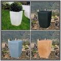 角型大型樹脂鉢 ミラノ鉢 高級輸入樹脂植木鉢 マルキオーロ社 ポリエチレン樹脂製