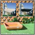 ポリエチレン樹脂製 正角型鉢 高級輸入樹脂植木鉢 マルキオーロ社 ナポリ浅型鉢