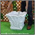 ユーロ3社 樹脂プランター オブジェ エジプト 大型樹脂鉢 ガーデンオブジェ 輸入樹脂植木鉢 クラシックデザイン