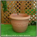 クラシックデザイン 樹脂プランター ユーロ3社 エトラス樹脂鉢 大型樹脂鉢 素焼き風 輸入樹脂植木鉢