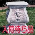 トラキア台座 角型コラム 石造コラム 台座 ガーデン飾り台 洋風庭園