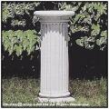 ナッソ ポール ガーデン台座 花台 イタルガーデン クラシックガーデン 彫像 石造 洋風