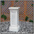 洋風庭園 イタリア製 石造シリーズ 台座コラム 石造台座 モンテッロ 飾り台 角台座