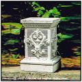 モンテマリオ台座 クラシックデザイン 石造  イタリア製 ガーデン台座 石造台座 人形コラム台座