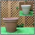 ダブルリムポット セラルンガ イタリア 大型樹脂鉢 輸入樹脂植木鉢 クラシックデザイン