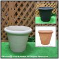 普遍人気 樹脂製植木鉢 カメリアポット セラルンガ クラシックデザイン ガーデンプランター ポリエチレン樹脂