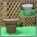 セラルンガ 普遍人気 ガーデンプランター 樹脂製植木鉢 クラシックデザイン ガーランドポット