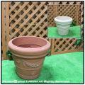 人気 ガーランドポット  セラルンガ 普遍人気 ガーデンプランター 樹脂製植木鉢 ロングセラー クラシックデザイン